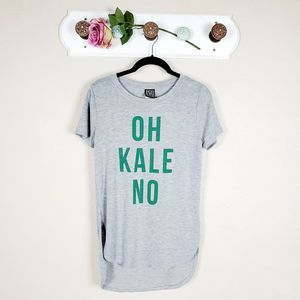 Modern Lux Graphic T-shirt Oh Kale No Graphic Tee